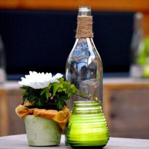 Recyclage pichet bouteille arrosage fleurs jardin outils jardinage