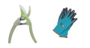 Sécateur Clarity Botanic et Gants Gardena Fnac outils jardinage