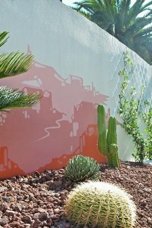 street art mur fresque mexique désert