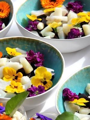 Mélange de fleurs comestibles à semer. Pour en savoir plus, lisez l'article du blog.