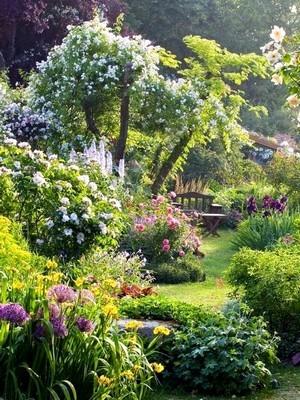 Découvrez les grands principes du style du jardin à l'anglaise. Découvrez l'article sur le blog.
