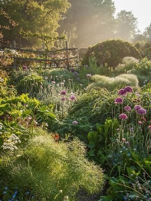 Le jardin à l'anglaise laisse place à la biodiversité et aux équilibres naturels. Lisez l'article sur le blog.