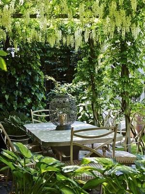 Jardins à l'anglaise: utilisez des grimpantes pour recréer un cocon naturel. Lisez l'article pour en savoir plus sur ce style de jardin et comment le créer.
