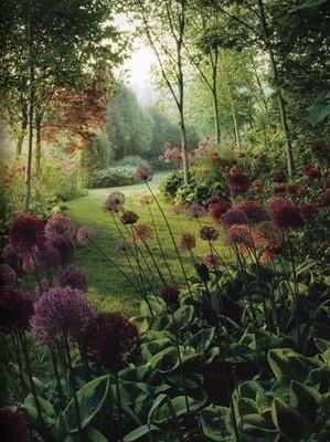 Le jardin à l'anglaise se compose comme un tableau. Pour en savoir plus, lisez l'article du blog.