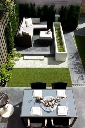 Donnez un style moderne minimaliste à votre terrasse! Lisez l'article du blog pour tout savoir sur le jardin contemporain.
