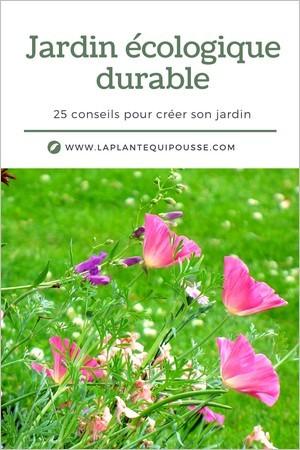 25 idées et conseils pour créer ou aménager un jardin écologique durable (ou un balcon, une terrasse)