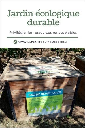 Jardinage durable; 25 conseils pour un jardin écologique (compost, engrais naturels...)