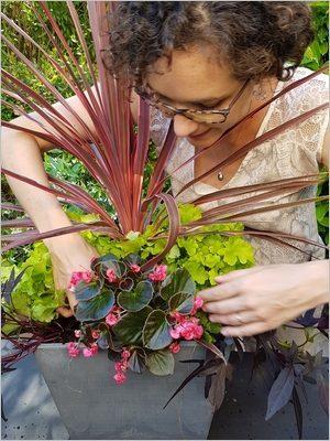 DIY composer une jardinière d'été: réussir à choisir les plantes et assembler les couleurs des fleurs et des feuillages